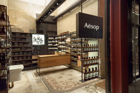 Aesop store by Architecture Outfit - New York