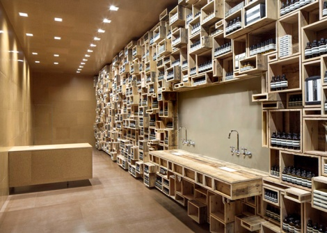 Aesop store by NADAAA -San Francisco